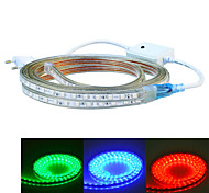 jiawen 400CM Waterproof  24W  240-5050SMD 8-Mode  RGB LED Flexible Light Strip (AC110~220V)