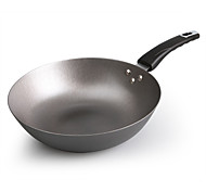 Cast Iron Frying Pan Wok Cooking Pots With No Coating Non-stick Pancake Maker Pan