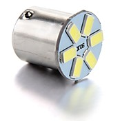 4 x 1156 BA15S 6 LED 5630 SMD cola del coche blanco de la lámpara bombilla de la luz de freno