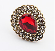 Retro Fashion In Europe And America Gemstone Sapphire-jewelry New Ring