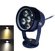 Jiawen 6W 6-LED 480Lumen 6000-6500K/3000~3200K  White /Warm white Light Underwater Lights(DC 12V)