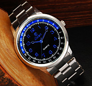 Men's Watch Popular Digital Simple Dual Time Display Casual Quartz Watch Cool Watch Unique Watch