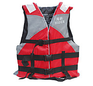 Safety Gear / Life Jacket / Life Vest Adult Diving / Snorkeling / Swimming Red / Blue Plastic-Hider