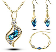 HUALUO®Angel Elf Crystal Jewelry Set