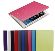 Mini iPad 4 de couverture de cas intelligente pour Apple iPad mini-4 de couleur assortie