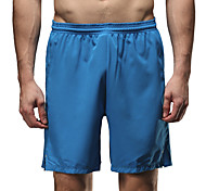 Vansydical Homme Séchage rapide Fitness Bas Bleu / Orange / Bleu royal