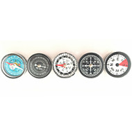 Fulang Mini Compass Plastic Oil Free Compass 30mm CP02