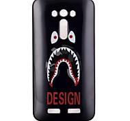 cassa del telefono di TPU modello di progettazione per zenfone ze550kl 2 laser