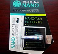 líquida nano película de vidrio templado adecuado para el teléfono móvil 1-6,5 pulgadas