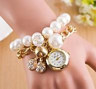 Woman The bell Diamond Pendant Wrist  Watch