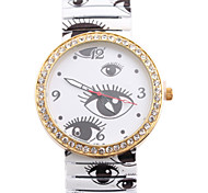 Ladies' Watch Printing Individual Quartz Watch Dial Strap