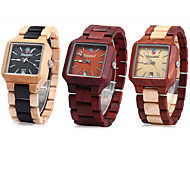 relojes de madera para hombre / relojes de cuarzo de madera / idea de regalo