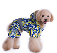 Dog Coat / Clothes/Jumpsuit / Clothes/Clothing Camouflage Color Winter Camouflage Waterproof / Cosplay / Keep Warm / Fashion