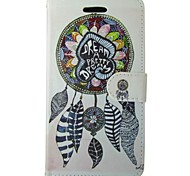 Color Dreamcatcher Painted PU Phone Case for Galaxy Grand Prime G530/Core Prime G360/Trend Duos S7562