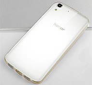 Transparent Silicone Back Cover For Huawei Honor 4A