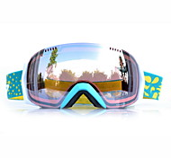 BASTO Blue Frame  Brown Sensor Skiing Snow Goggles