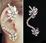New Arrival Fashional Rhinestone Crystal Earhook Earring