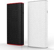 BOAS Besiter 10000mAh Large Capacity Power Bank External Battery Portable Charger USB for IPhone 6s Samsung Galaxy S6