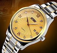 Men's Luxury Business Stainless Steel Quartz Watch