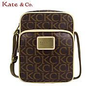 Kate & Co.® Women PVC Shoulder Bag Gray - TH-02230