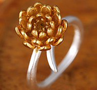 Fashion Sweet Flower Personalized Ring