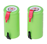 NI-CD 1.2V 2800mAh Rechargeable Battery (2pcs)Green