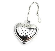 Stainless Steel Heart Shape Tea Holder Strainer Infuser Filter