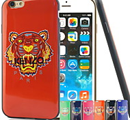 Light Jungle Color King Mood TPU Soft Phone Case for iPhone 6/6S(Assorted Colors)