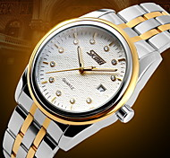 Men's Luxury Business Stainless Steel Quartz Watch