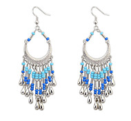European Style Bohemian Fashion Crescent Earrings
