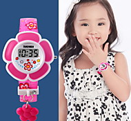 Kid's Flower Style Digital Watch