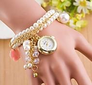 Woman he bell Diamond Pendant Wrist  Watch