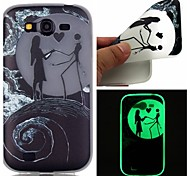 Dancing Luminous Dream Catcher Pattern Sofe TPU Case for Samsung Galaxy I9060/G530/G360/J3/J1 ACE/ON5/ON7