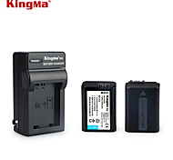 KingMa  NP-FW50 Camera Battery DC147 Charger for SONY A5000 A5100 A7R NEX 6 7 5TL 5R 5N 3Nl A6000 5T 5C 3N A7 NEX6 NEX7