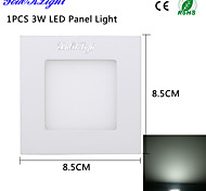 3W Luces de Panel 15 SMD 2835 300 lm Blanco Fresco Decorativa AC 110-130 / AC 100-240 V 1 pieza