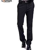 Lesmart Men's Straight / Suit Pants Black - LW13434