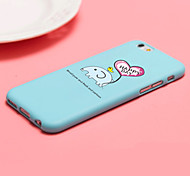iFashion® Candy Color Blue Small Elephant Pattern Soft Case for iPhone 6/6s