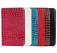 Krokodilkorn-Entwurf PU-Lederhülle für Samsung Galaxy Tab 3 lite T110