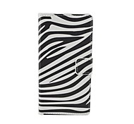 Zebra Pattern Flip Leather Case For iPhone 5/5S Cover Bags