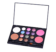 16 Eyeshadow Palette Matte / Mineral Eyeshadow palette Powder Normal Daily Makeup / Halloween Makeup / Party Makeup
