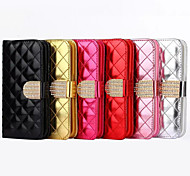 Fashionable Ling Plaid Package Design PU Case for iPhone5/5S (Assorted Color)