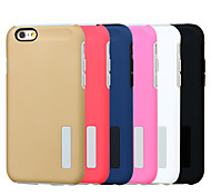 PC Two in One Stand Mobile phone Case for iPhone 6s/6 Assorted Color