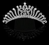 Wedding Hair Accessories Bride Bridal Growing Flowers Hair Comb Tiara Crown