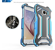 R-just Gundam Aluminum Bumper Metal Outdoor Fullbody Case for Samsung Galaxy S6