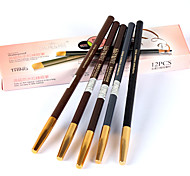 Eyebrow Pencil Dry Long Lasting / Waterproof / Natural Black / Brown Eyes