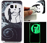 Voor Samsung Galaxy Note Glow in the dark hoesje Achterkantje hoesje Cartoon TPU Samsung Note 5