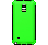 2 in1 Hybrid High Impact Hard Silicone Case for Samsung Galaxy Note 4 (Assorted Color)