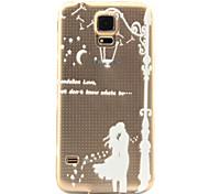 liefhebbers patroon TPU hulp Cover Case voor Galaxy s5 / galaxy s6 / galaxy s6 rand plus