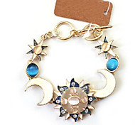 Fashion Jewelry High Quality Moon Sun Bracelet