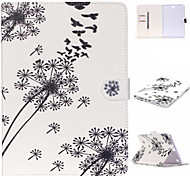 Dandelion Pattern PU Leather Protective Sleeve For Samsung Galaxy Tab E 9.6 T560